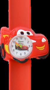 Kinderhorloge crazy auto rood