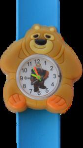 Kinderhorloge chubby beer donkerblauw
