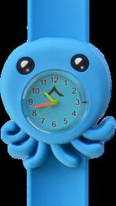 Kinderhorloge sweet octopus blauw