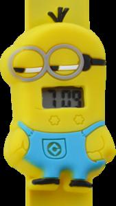 Digitaal kinderhorloge kleine helper geel